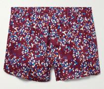 Ledbury 45 Printed Cotton Boxer Shorts