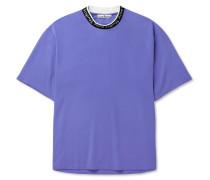 Logo-Jacquard Jersey T-Shirt