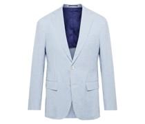 Kincaid No. 1 Slim-Fit Striped Cotton-Seersucker Blazer