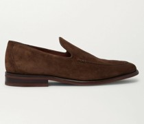 City Suede Loafers