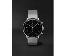 Max Bill Chronoscope 40mm Stainless Steel Watch, Ref. No. 27/4500.49