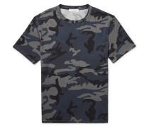 Slim-fit Camouflage-print Cotton-jersey T-shirt