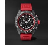 Endurance Pro SuperQuartz Chronograph 44mm Breitlight and Rubber Watch, Ref. No. X82310D91B1S1