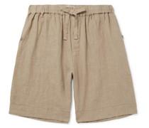 Linen Drawstring Pyjama Shorts