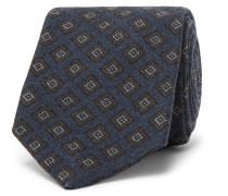 + Drake's Diamond-patterned Wool Tie