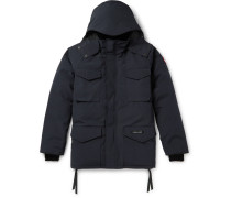 Constable Hooded Shell Parka