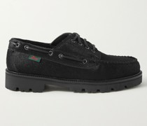 Calf Hair Boat Shoes