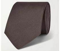 7cm Scritto Mulberry Silk-Jacquard Tie