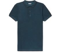 Overdyed Cotton-piqué Polo Shirt