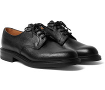 Archie II Textured-Leather Derby Shoes