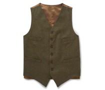 Oxford Wool-Tweed Waistcoat