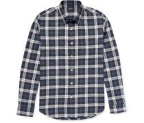 Rammy Plaid Herringbone Cotton Shirt