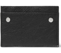 Arena Creased-leather Cardholder