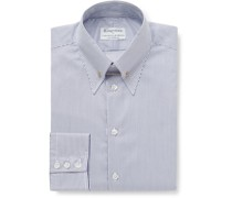 + Turnbull & Asser Slim-Fit Pinned-Collar Cotton Shirt