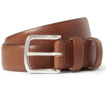 3cm Brown Jeremy Leather Belt