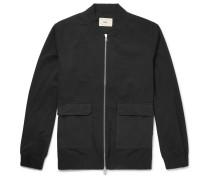 Cotton-twill Bomber Jacket