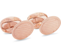 + Deakin & Francis Rose Gold-plated Sterling Silver Cufflinks