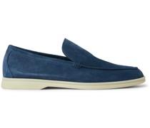 Summer Walk Suede Loafers