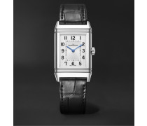 Reverso Classic Medium Thin Hand-Wound 24.4mm Stainless Steel and Alligator Watch, Ref. No. Q2548440