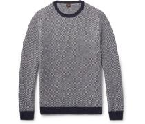 Birdseye Wool Sweater