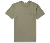 Dweller Overdyed Cotton-jersey T-shirt