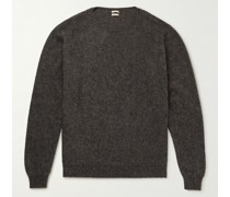 J. Pierre Wool, Yak and Cashmere-Blend Sweater