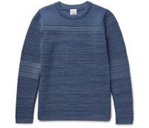 Torso Textured Virgin And Merino Wool-blend Sweater