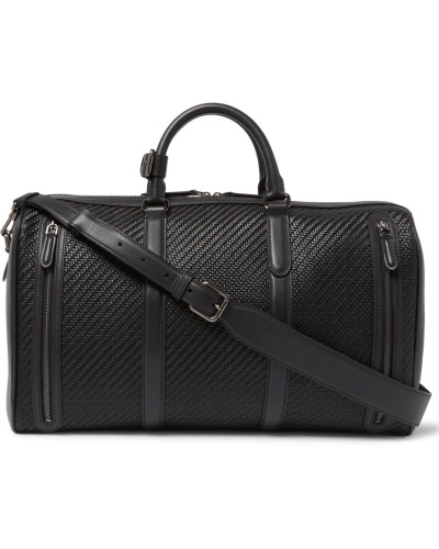 Pelle Tessuta Leather Holdall