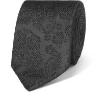 6cm Floral Silk-jacquard Tie