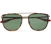 Lafayette Aviator-style Acetate And Gold-tone Sunglasses