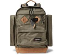 Killington Leather-trimmed Canvas Backpack