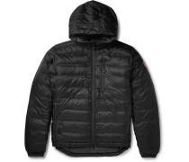 Lodge Quilted Hooded Down Jacket