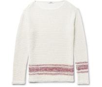 Linen And Silk-blend Sweater