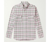 Layolh Checked Cotton-Flannel Shirt