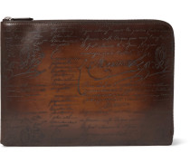 Gloria Polished-leather Pouch