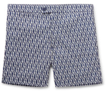 Eluard Slim-Fit Short-Length Printed Swim Shorts