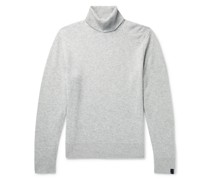 Haldon Mélange Cashmere Rollneck Sweater