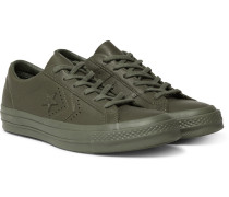 + Engineered Garments One Star Leather Sneakers