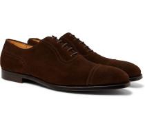 Adam Cap-Toe Leather Oxford Brogues