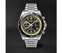 BR V3-94 R.S.20 Limited Edition Automatic Chronograph 43mm Stainless Steel Watch, Ref. No. BRV394-RS20/SST