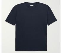 Pima Cotton-Jersey Mock-Neck T-Shirt
