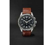 Polaris Automatic Chronograph 42mm Stainless Steel and Leather Watch, Ref. No. Q9028471