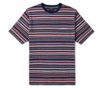 Striped Cotton-Jacquard T-Shirt
