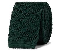 5.5cm Textured Knitted Silk Tie