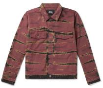 Tie-Dyed Denim Jacket