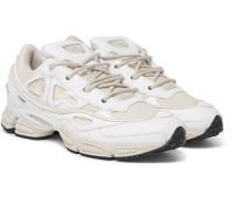 + Adidas Ozweego Iii Leather, Canvas And Satin Sneakers