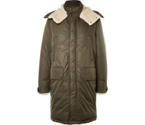 Grafton Shearling-trimmed Shell Down Parka
