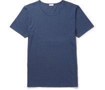 Stretch Cotton-blend T-shirt