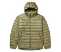 Cerium LT Quilted Ripstop Hooded Down Jacket