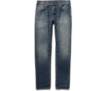 Steady Eddie Washed Organic Denim Jeans